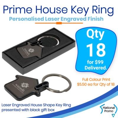 18x Prime House Key Rings