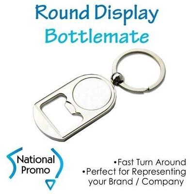 18x Round Display Bottlemate Keyrings