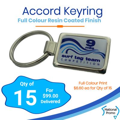 15x Accord Keyrings