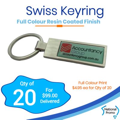 20x Swiss Keyrings