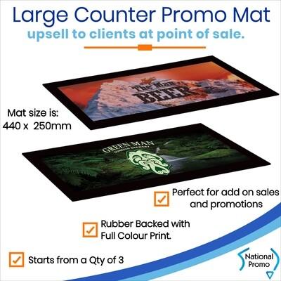 Large Counter Promo Mat