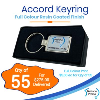 55x Accord Keyrings