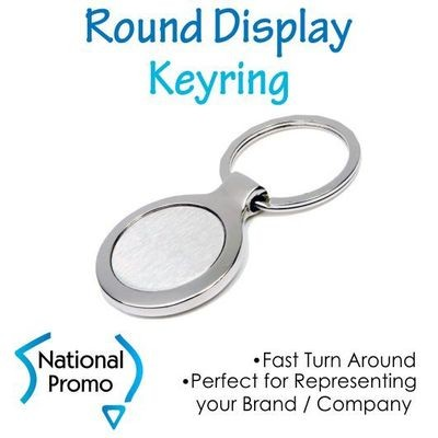 Round Display Keyring