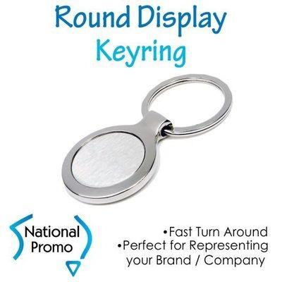 Round Display Keyring