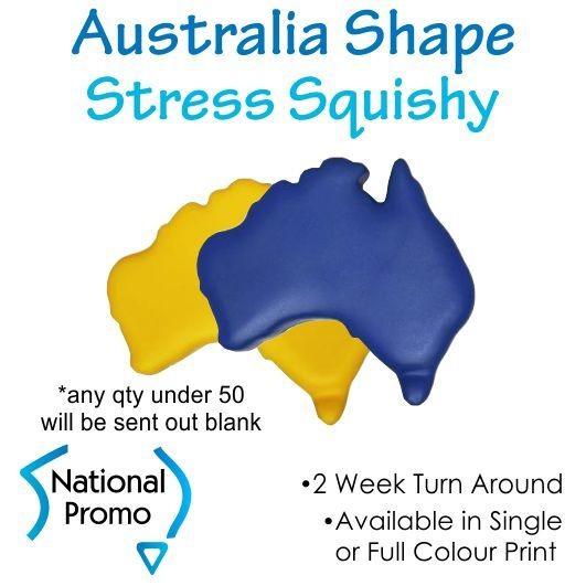 Full Colour Print Australia Stress Squishy