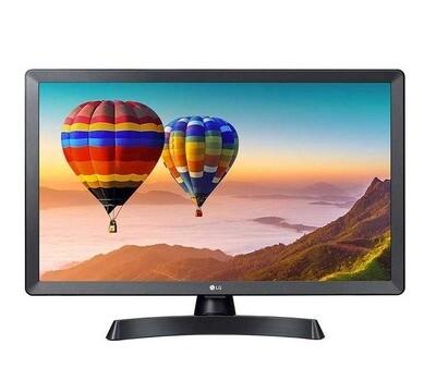 """TV COLOR LED 24"""" SMART TV DVB-T2 LG 24TN510S-PZ BLACK EUROPA"""