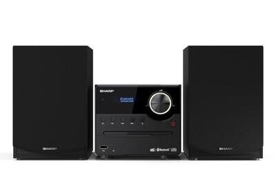 HIFI MICRO SHARP XL-B517D(BK) - 45W DAB+ USB RDS MP3 BLUETOOTH 5.0