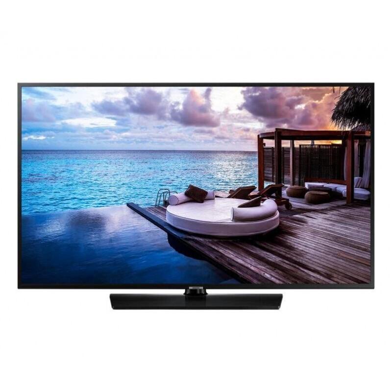 TV COLOR 49 POLLICI LED 4K 1300 PQI SmartTV - HOTEL TV - PIEDE CENTRALE - WiFi SAMSUNG HG49EJ690UB BLACK EUROPA