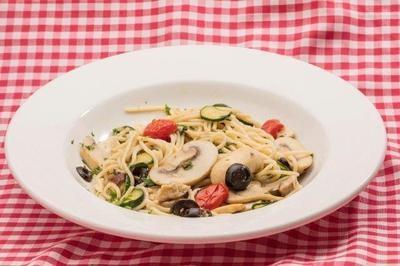 Enrico's Aglio Olio e Peperoncino Spaghetti