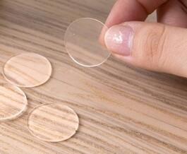 Двусторонний силиконовый тейп круглый диаметр 20мм 25 шт