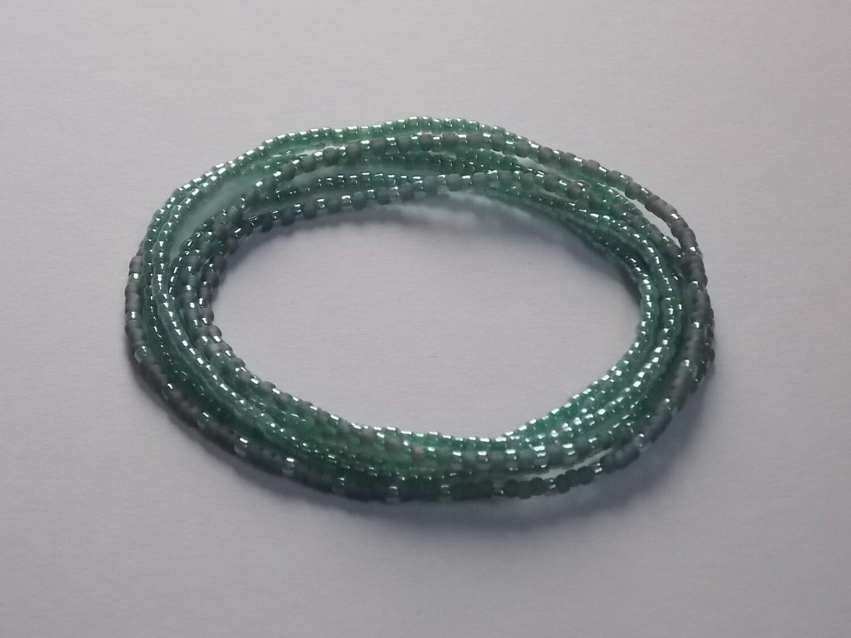 Stretch-Armbandkette hellgrün