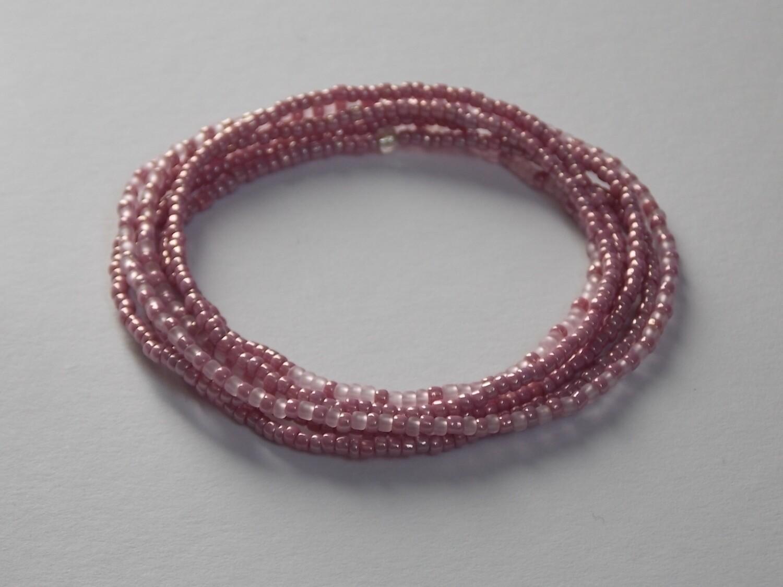 Stretch-Armbandkette rose