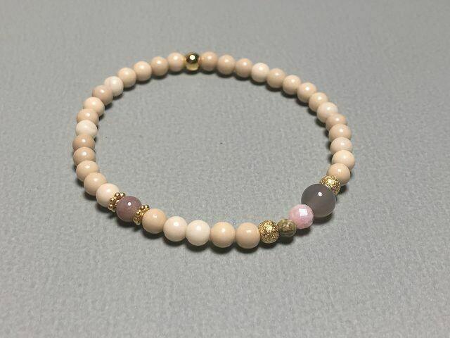 Armband mit Naturstein und Edelsteinmix