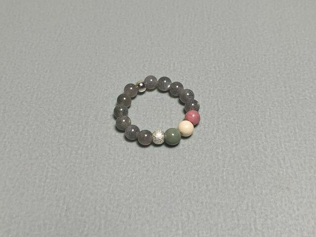 Elastischer Ring Mondstein