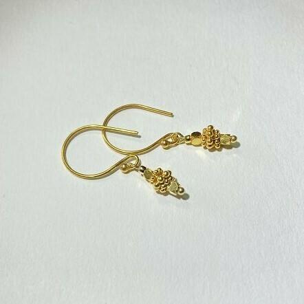 Ohrhänger vergoldet