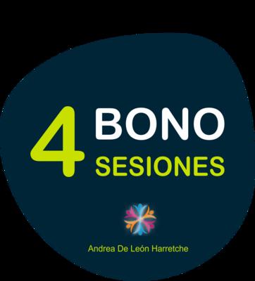 Bono 4 Sesiones Psicoterapia o coaching