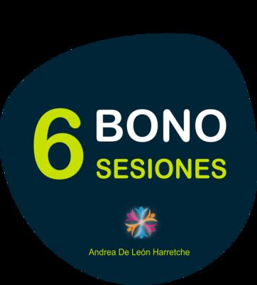 Bono 6 Sesiones Psicoterapia o Coaching