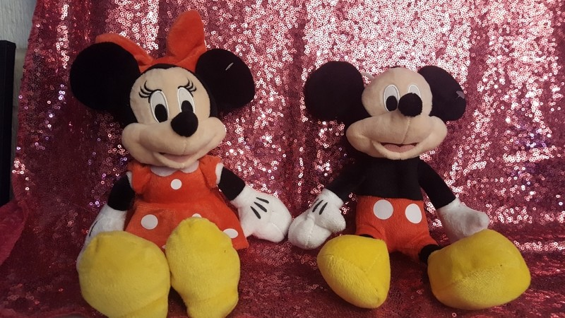 Mini and Mickey Mouse (set)