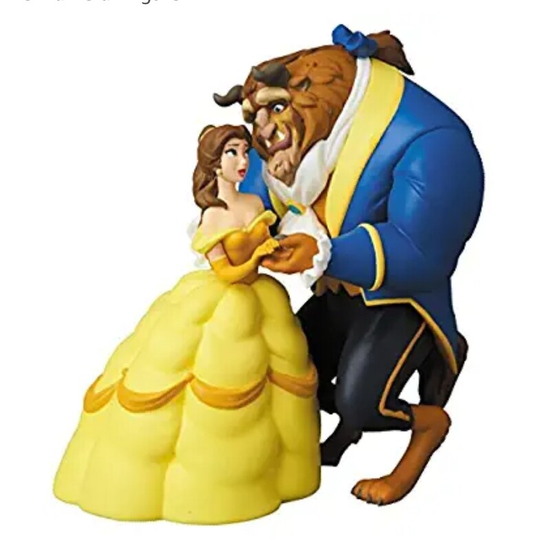 Belle and Beast Tabletop decor