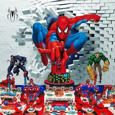 Spiderman Photo backdrop