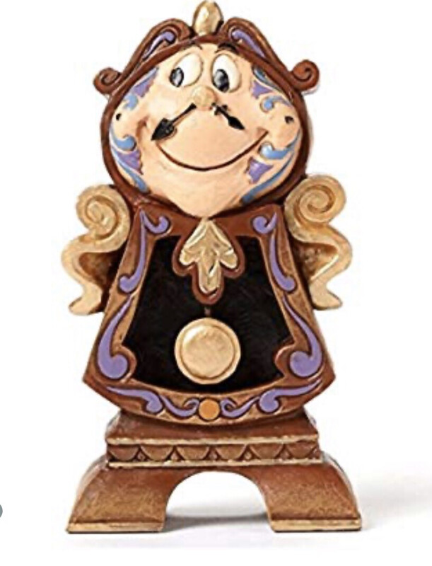Beauty And The Beast Cogsworth 4.25 Inches