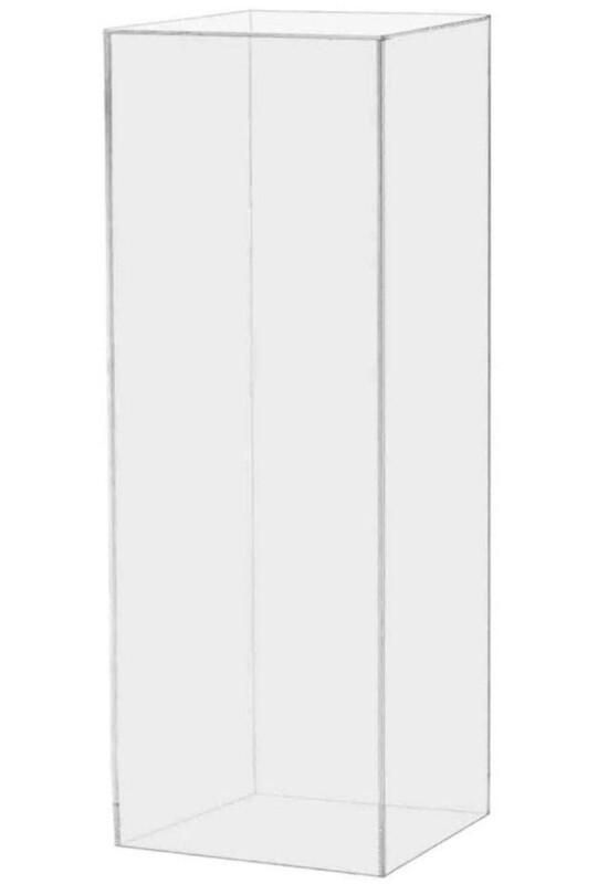 Clear Acrylic Column