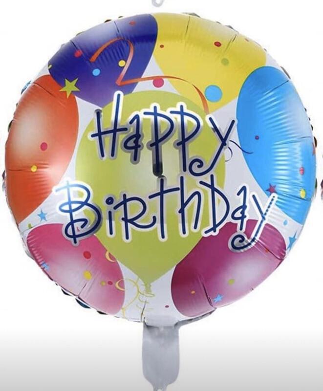 Happy Birthday Balloon (A)