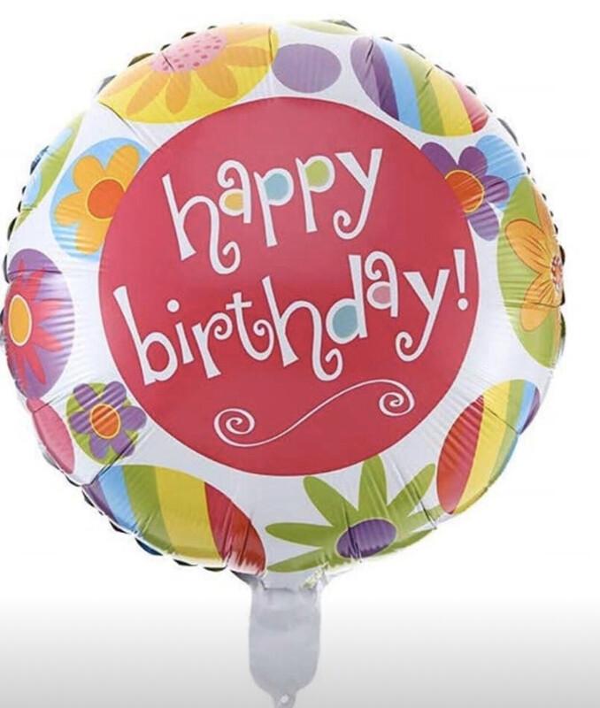 Happy Birthday Balloon (D)