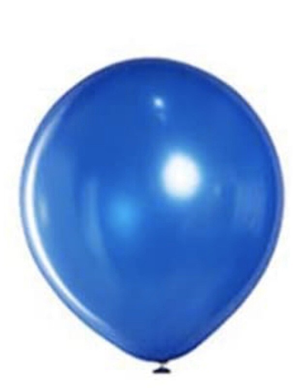 12 Inch Royal Blue ballooon