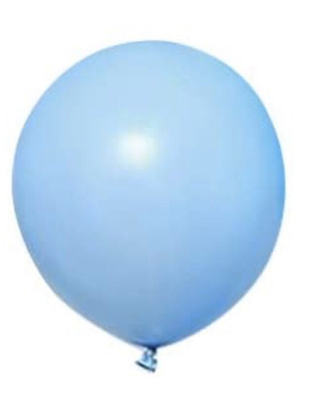 12 Inch Baby Blue Balloon