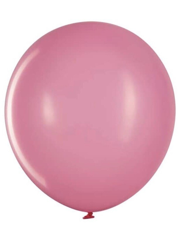 12 Inch Baby Pink Balloon