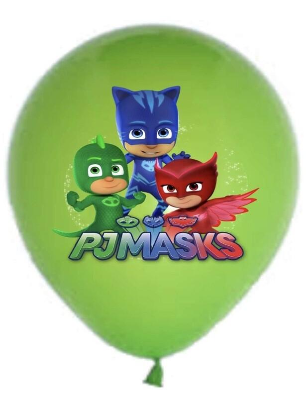 Green PJ Mask Balloon