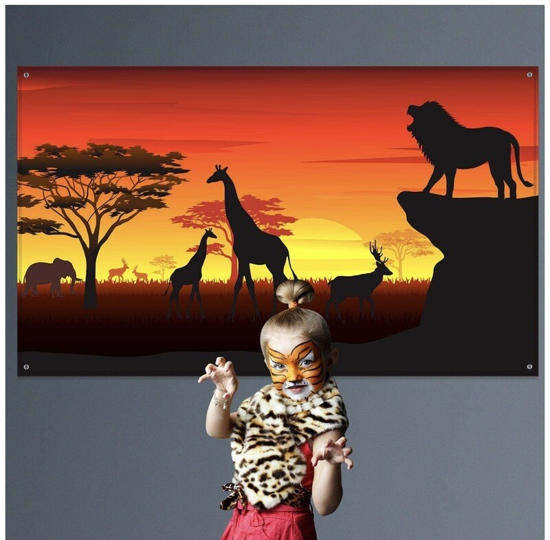 Safari Theme Backdrop