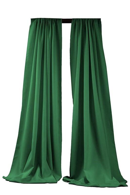Emerald Green Panels X 2