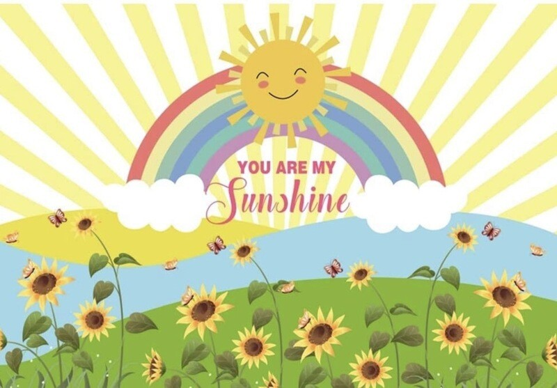 You Are My Sunshine Backdrop