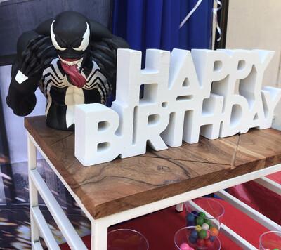 SGBES Super Hero Birthday Package A