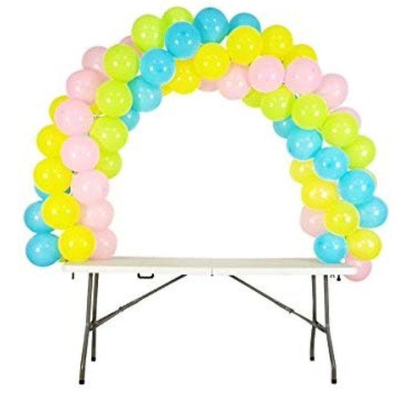 Balloon table Arch