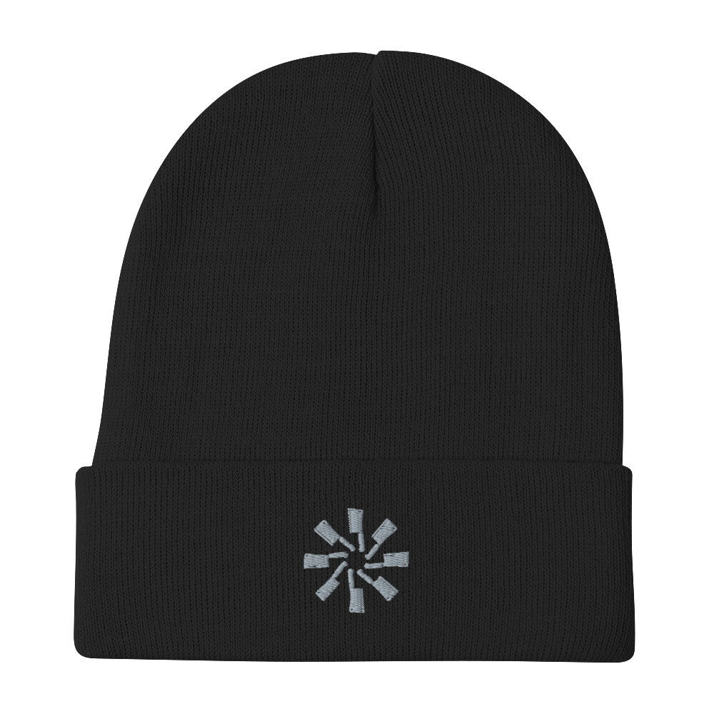Butcher Embroidered Beanie