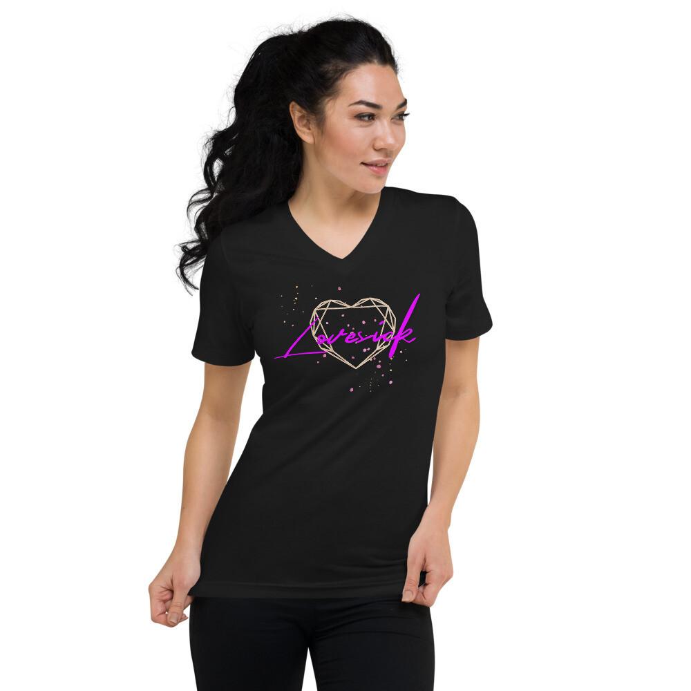 UNISEX Lovesick V-Neck T-Shirt