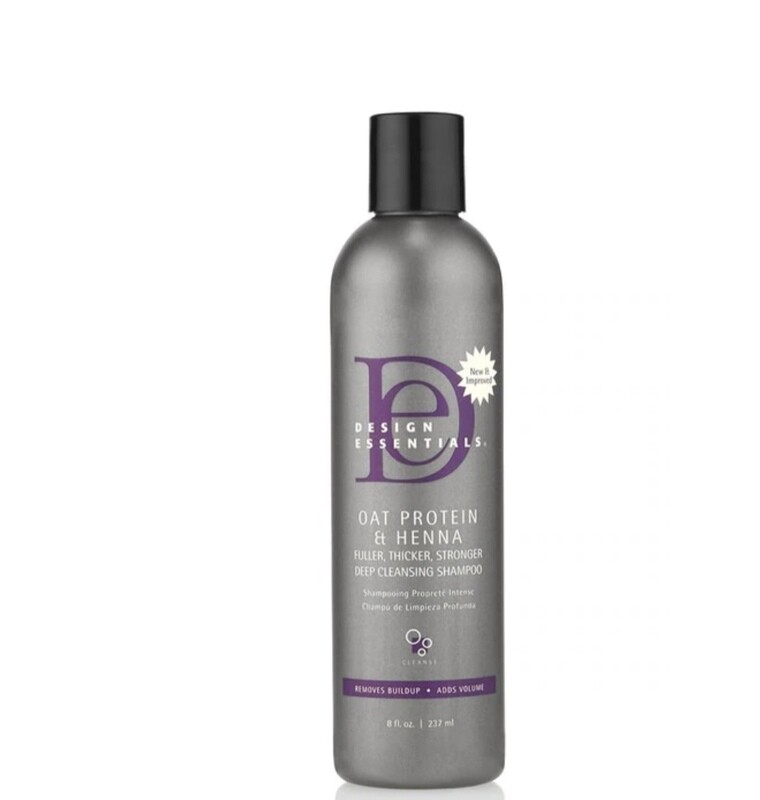 Design Essentials Oat Protein & Henna Shampoo