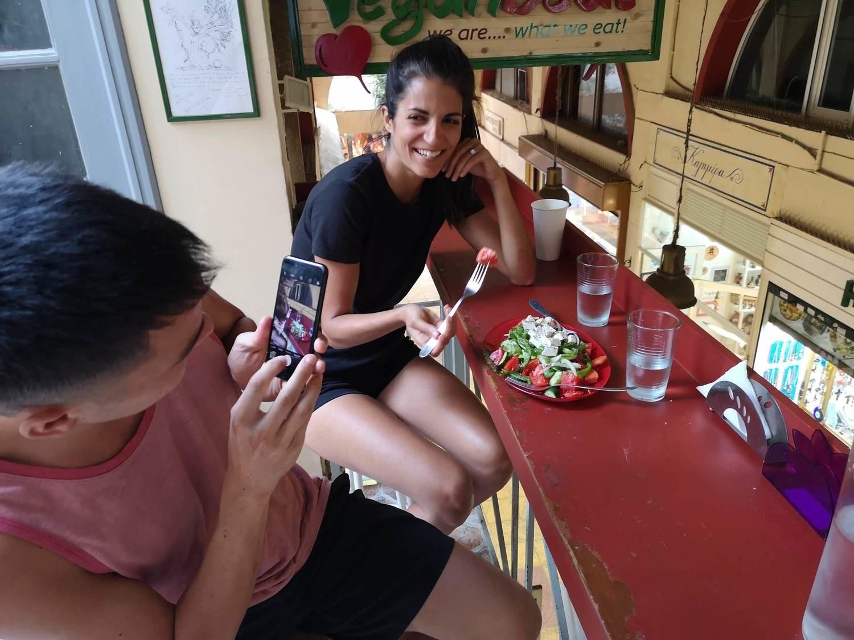 Vegan  Secret food tour Athens