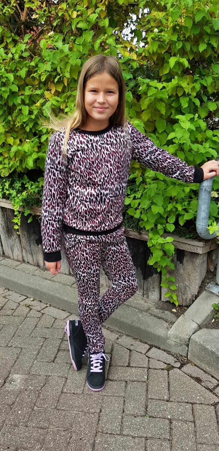 Panterprint jogging set