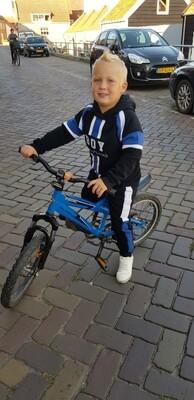 Boy joggingpak blauw