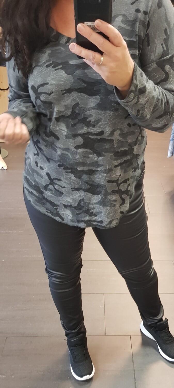 Army longsleeve grijs