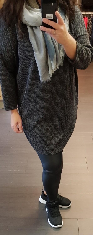 Uni tuniek donker grijs