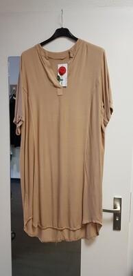 Tencil tuniek camel