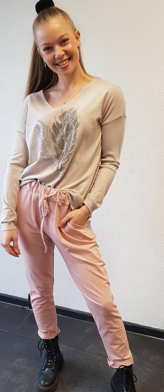 Jogging broek roze