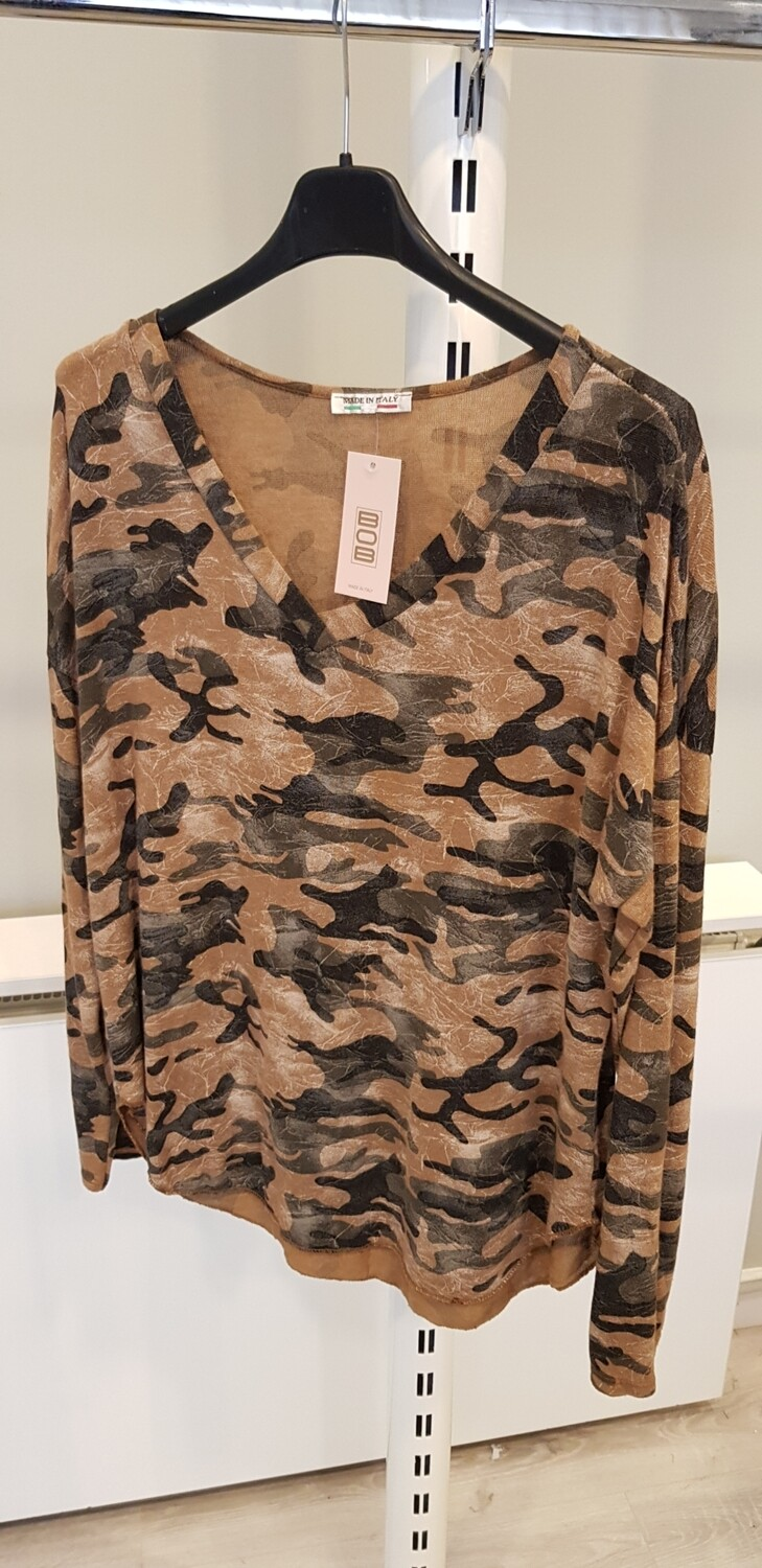 Army long sleeve camel