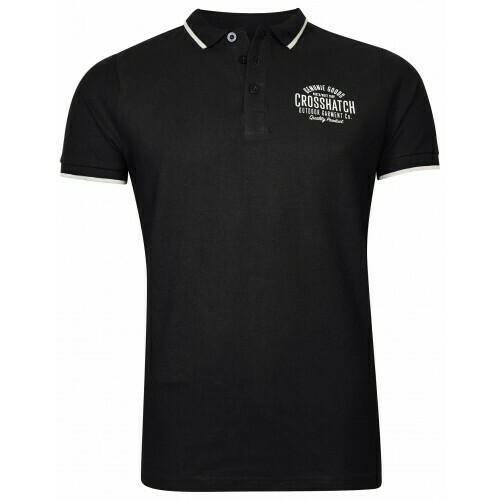 Polo shirt Seton zwart