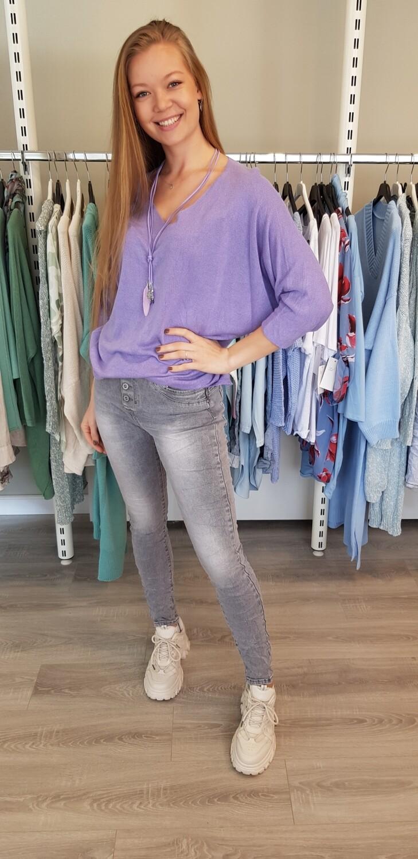 Jewelly jeans grijs